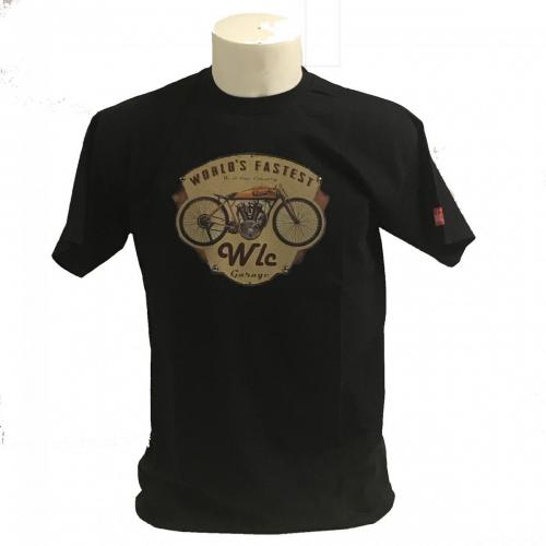 tshirt moto black