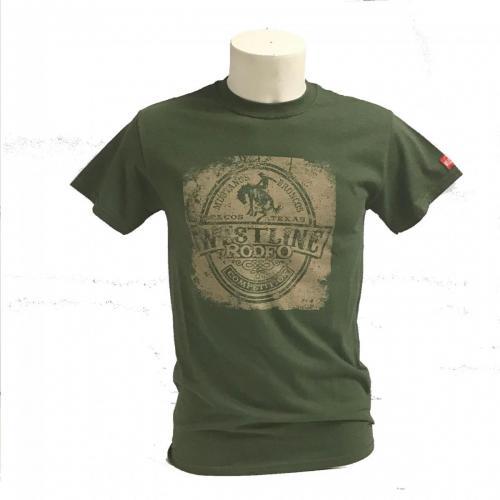 tshirt rodeo verde